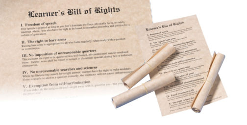 Learners Bill of Rights