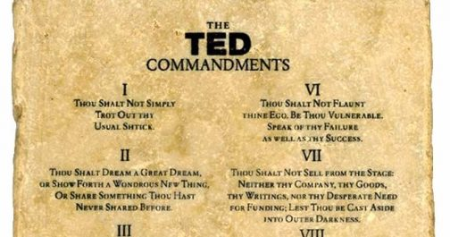 PowerPoint 10-20-30  & The TED Commandments
