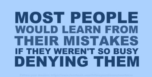 Mistakes are Essential to Learning