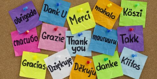 "How do you say ""Thank you"" to employees?"