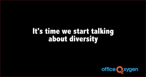 Starting the Conversation (#LetsTalkDiversity)